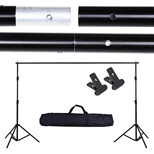 AW Portable Adjustable Photo Shooting Studio Backdrop Support Video Background Stand Carrying Bag