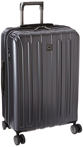 DELSEY Paris Luggage Helium Titanium 25' Spinner Trolley Hard Case Suitcase, Graphite, One Size