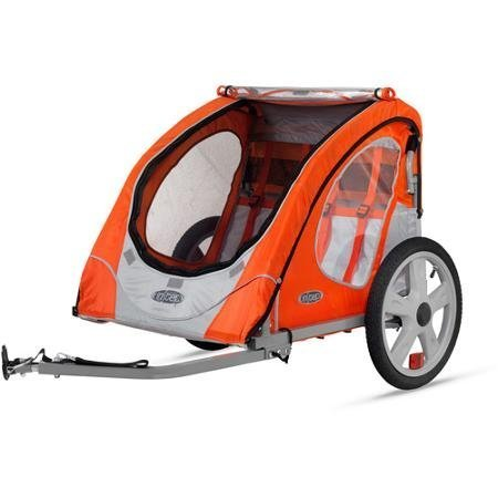 Robin 2-Seater Trailer, Orange-InStep-12-IS132WM by Pacific Cycle
