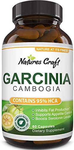 Garcinia Cambogia with 95% HCA Weight Loss Supplement - Best Fast Acting Fat Burner and Natural Carb Blocker Diet Pills - Pure Garcinia Extract Appetite Suppressant for Men & Women 4