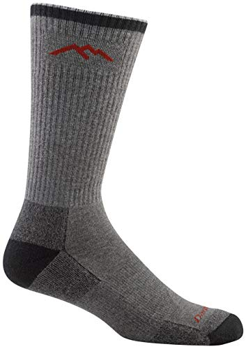Darn Tough Coolmax Boot Cushion Socks - Men's Gray/Black Large