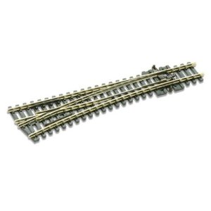 Peco N Scale Code 80 Electrofrog #6 Left-Hand Turnout 41PtPLgCUtL