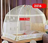 Mosquito Net for Camping bed - Olympics Hot Tent Rio Prevent Zika Virus Bed Net Chinese Knot Mongolian Yurt Lace Mosquito Net Well Sleep Zipper Moustiquaire