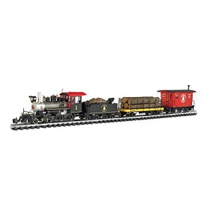 "Bachmann Trains – North Woods Logger Ready To Run Electric Train Set – Large ""G"" Scale 41Pv J6LVbL"
