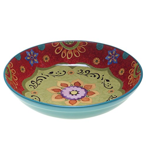 Certified International 22467 Tunisian Sunset Serving/Pasta Bowl, 13.25