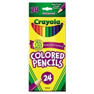 Crayola Colored Pencils, Assorted Colors