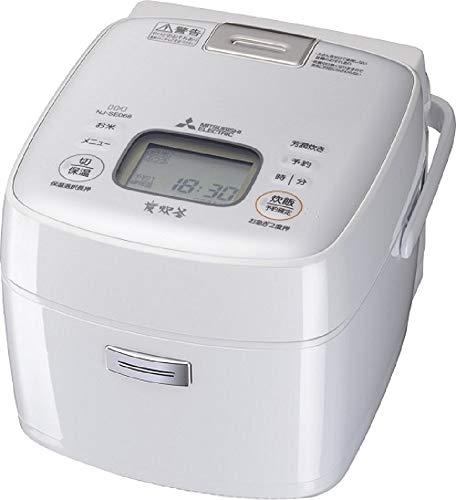 MITSUBISHI IH Jar Rice Cooker (3.5Go cooker/0.63L) Binchotan(Charcoal) NJ-SE068-W (Pure White)【Japan Domestic genuine products】