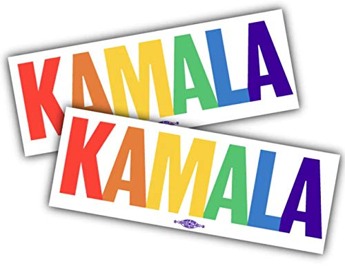 Official Kamala Pride 2020 Bumper Sticker - for The People (2 Pack)
