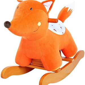 labebe – Baby Rocking Horse, Kid Ride On Toy, Child Riding Toy, Fox Riding Horse for 1-3 Year Old, Toddler (Outdoor…