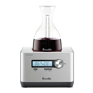Breville-BWD600SIL-Sommelier-Electric-Decanter-Silver