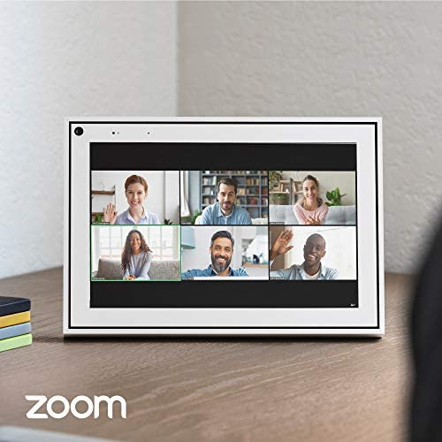 """Facebook Portal - Smart Video Calling 10"""" Touch Screen Display with Alexa – White"""