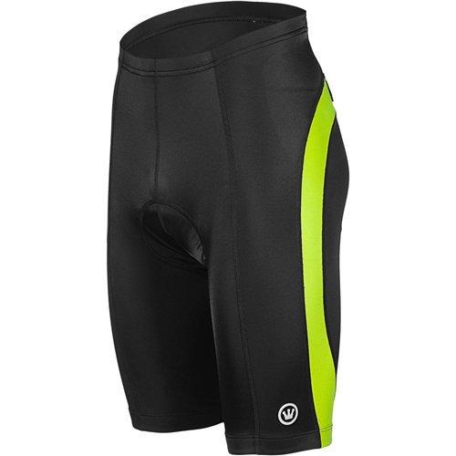 Canari Men's Blade Gel Cycling Shorts, Killer Yellow, Large