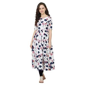 Poshak Women's Cotton / Crepe Anarkali Kurta