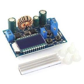 DZS-Elec-DC-DC-Buck-Boost-Converter-Module-55-30V-12v-to-05-30V-5v-24v-Adjustable-Step-Down-Up-Voltage-Regulator-Constant-Current-Voltage-3A-35W-Power-Supply-with-LCD-Display