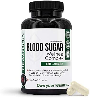 Blood Sugar Wellness Complex, Premium Blend of Herbs for Healthy Blood Sugar Level, Weight Loss & Heart Health - Gymnema Sylvestre, Bitter Melon, Banaba - Unbroken Intention 1