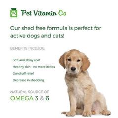 Pet-Vitamin-Co-Antarctic-Krill-Oil-Shed-Free-Soft-Chews-for-Dogs--Rich-in-Omega-3-Antioxidants--Improved-Skin-Coat--Hypoallergenic--cGMP-Certified--Made-in-USA--60-Soft-Chews
