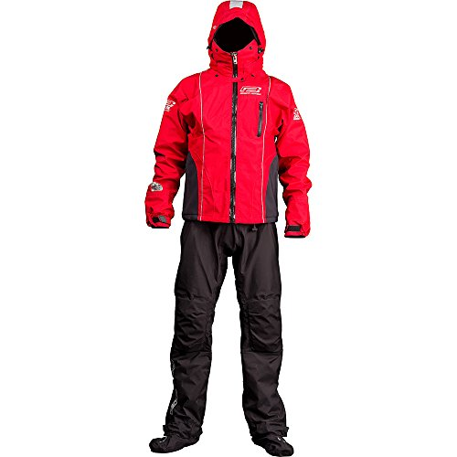 Ocean Rodeo Ignite Breathable Drysuit, Large, Red
