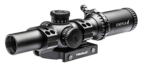 TRUGLO Omnia Low Power Variable Rifle Scope, 1-4 x 24mm