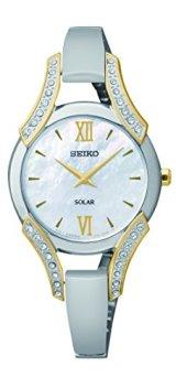 Seiko Women's SUP214 Stainless Steel Bangle Watch