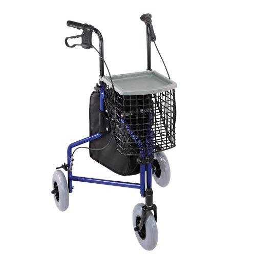 Duro-Med Folding Rollator Walker with...