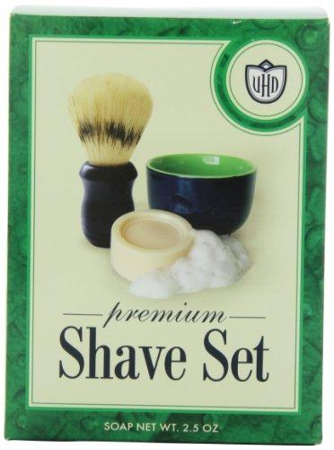 Van Der Hagen Premium Shave Set (2.5 oz. Soap, Bowl, Brush)