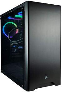 CUK Sentinel II VR Extreme Gaming PC (i9-9900K, 32GB RAM, 1TB NVMe SSD + 2TB HDD, NVIDIA RTX 2080 Ti 11GB, 750W PSU, Windows 10) The Best New VR Ready Tower Desktop Computer for Gamers (Black)