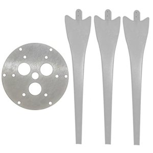 6 Blade Wind Turbine Hub & 3 Raptor Generation 4 Blades Upgrade Kit