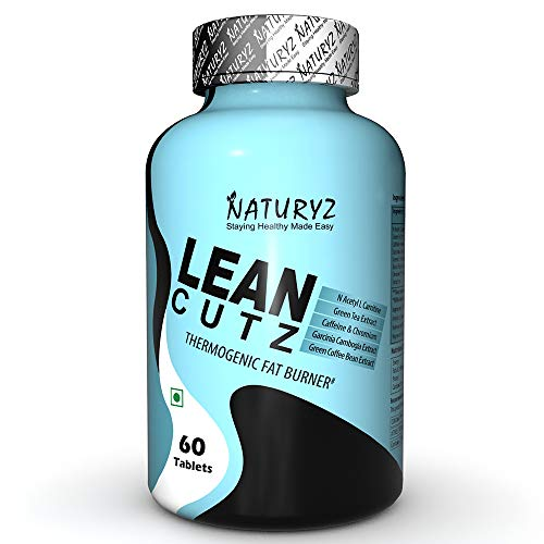 Naturyz-LEAN-CUTZ-Thermogenic-Fat-Burner-with-Acetyl-L-Carnitine-Green-tea-Extract-Garcinia-Cambogia-Green-Coffee-Bean-Extract-Caffeine-Chromium-Weight-loss-product-for-Men-Women-60-Tablets