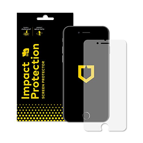RhinoShield Screen Protector for iPhone 8 / iPhone 7 [Impact Protection] | Hammer Tested Impact Protection - Clear and Scratch Resistant Screen Protection