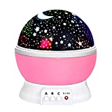 ATOPDREAM Birthday Gifts Presents for 2-10 Year Old Girls, Wonderful Romantic Starlight for Kids Toys for 2-10 Year Old Boys Gifts for 2-10 Year Old Boys Stocking Stuffer Pink TSUKXK03