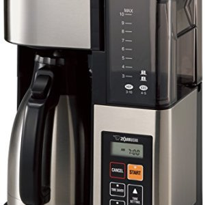 Zojirushi EC-YTC100XB Coffee Maker, 10-Cup, Stainless Steel/Black 3