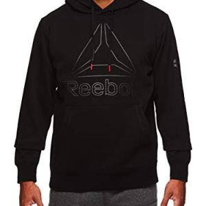 Reebok Men's Performance Pullover Hoodie - Graphic Hooded Activewear Sweatshirt 18 Fashion Online Shop gifts for her gifts for him womens full figure