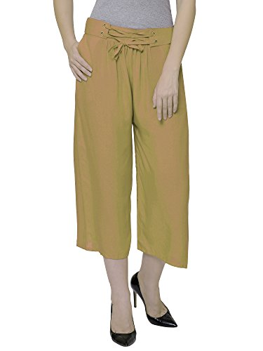Damen Mode Women's Rayon Culotte Capri