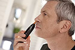 Philips Norelco Nosetrimmer 3100 for ear, nose and eyebrows, NT3155/60  Image 3