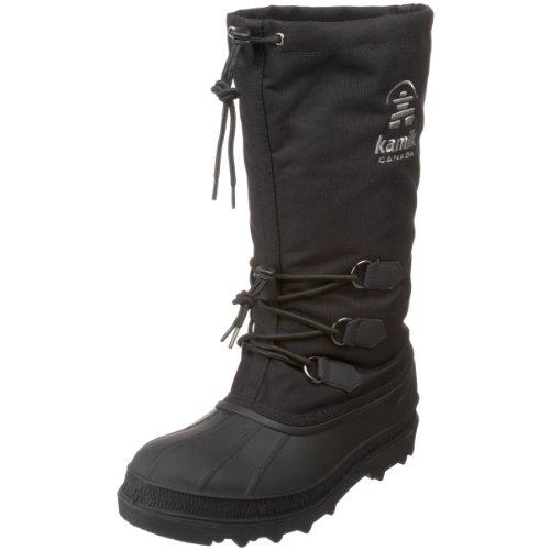Kamik Men's Canuck Cold Weather Boot,Black,11 M US