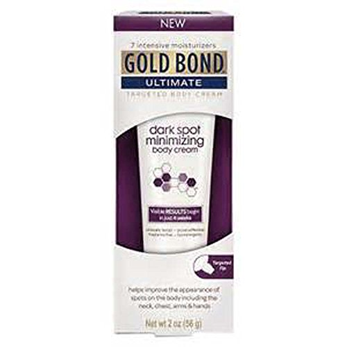 Gold Bond Ultimate Dark Spot Minimizing Body Cream, 2 oz (Pack of 2)