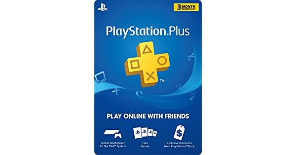 Amazon Com Playstation Plus 3 Month Membership Digital Code