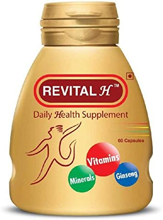 REVITAL H DAILY HEALTH SUPPLEMENT 60 CAPSULES