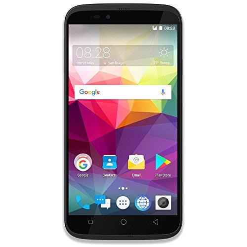 Coolpad Splatter Factory Unlocked Phone - 5.5Inch Screen - 16GB - Silver Grey (U.S Warranty)
