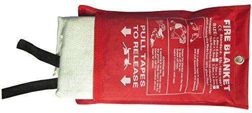 Tonyko® Fiberglass Fire Blanket, 39 x 39-inch