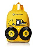 John Deere Boys' Tractor Toddler Backpack (13', Yellow)