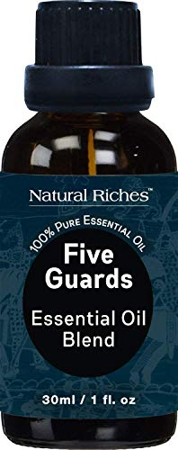Five Guards Synergy Blend, Aromatherapy Essential Oils 30 ml