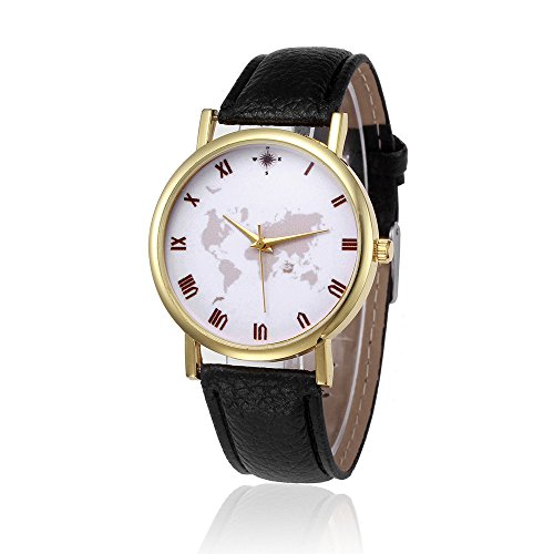 Display:Analog. Band Material:PU Leather.Movement: Quartz Case Size: 35.5mm x 35.5mm.Case Thickness: 7mm.Band Width: 19mm.Band Length: 22cm Occasions for gifts:Advertising and promotion, business gifts, holiday, housewarming, birthday, travel
