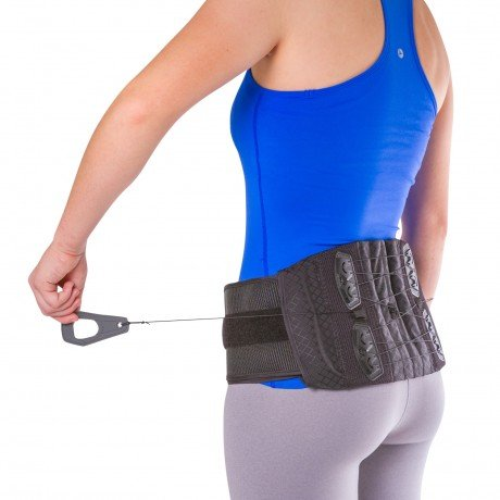 BraceAbility Lower Back & Spine Pain Brace | Adjustable Corset Support for Lumbar Strain, Arthritis, Spinal Stenosis and Herniated Discs (One Size - Fits Men & Women with 28' - 60' Waist)