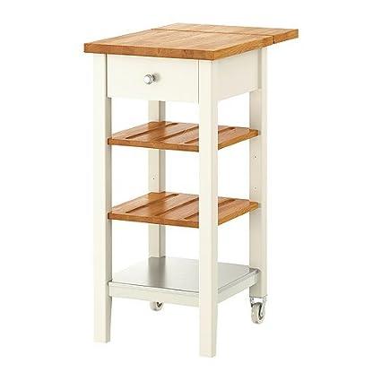 Ikea Stenstorp Carrello Da Cucina Bianco Rovere 45 X
