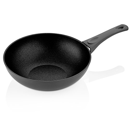 Saflon-Titanium-Nonstick-Wok-Pan-4mm-Forged-Aluminum-with-PFOA-Free-Scratch-Resistant-Coating-from-England-Dishwasher-Safe