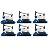 MRT SUPPLY Classic AB Automatic Robotic In Ground Wall Pool Cleaner Vacuum (6 Pack) with Ebook