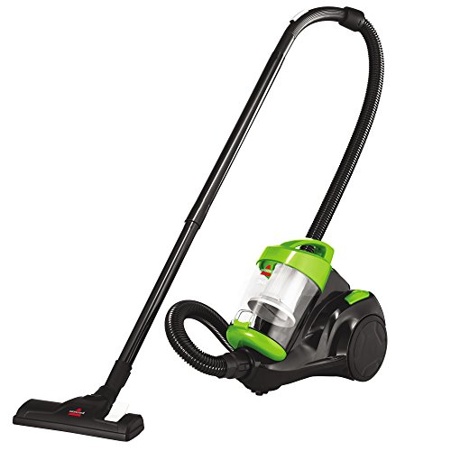 Bissell Zing Canister, 2156A Bagless Vacuum, Green