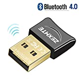 USB 4.0 Bluetooth Adapter for PC Bluetooth Dongle Receiver Wireless Transfer Compatible with Stereo Headphones Desktop Windows 10/8/7/Vista/XP