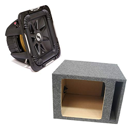 Kicker 11S12L74 Solobaric L7 Subwoofer Single 12' Vented Sub Enclosure Box New